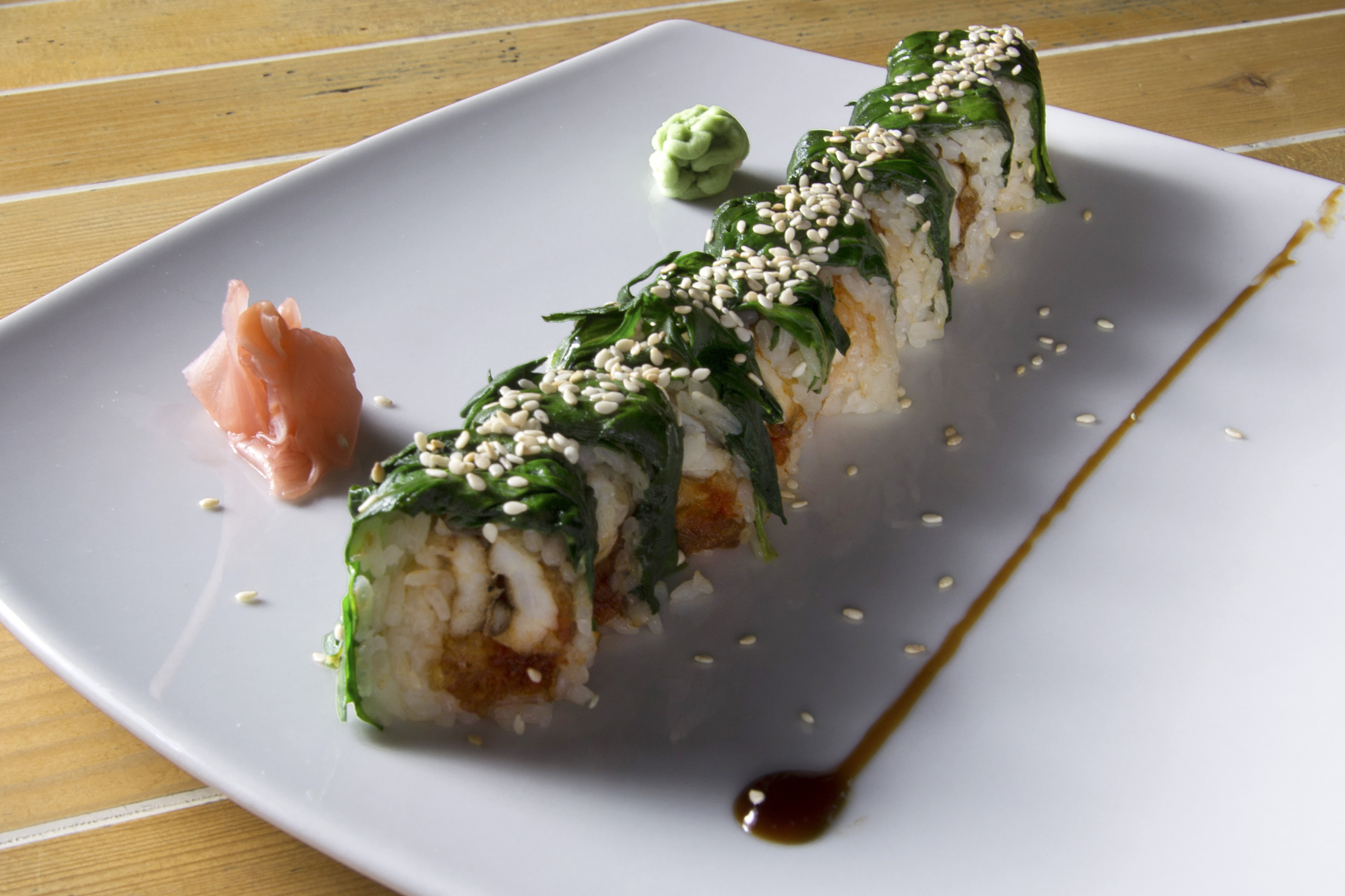 Sea bass Roll